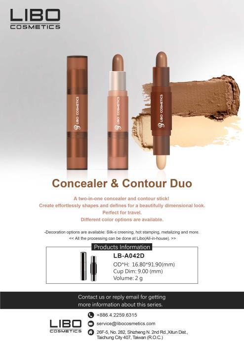Concealer & contour duo