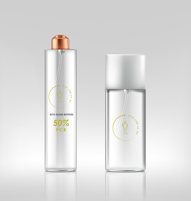 Ramon Clemente presents the ECO line of PCR perfume bottles