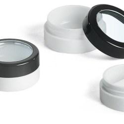 Pressed powder, balm container 01