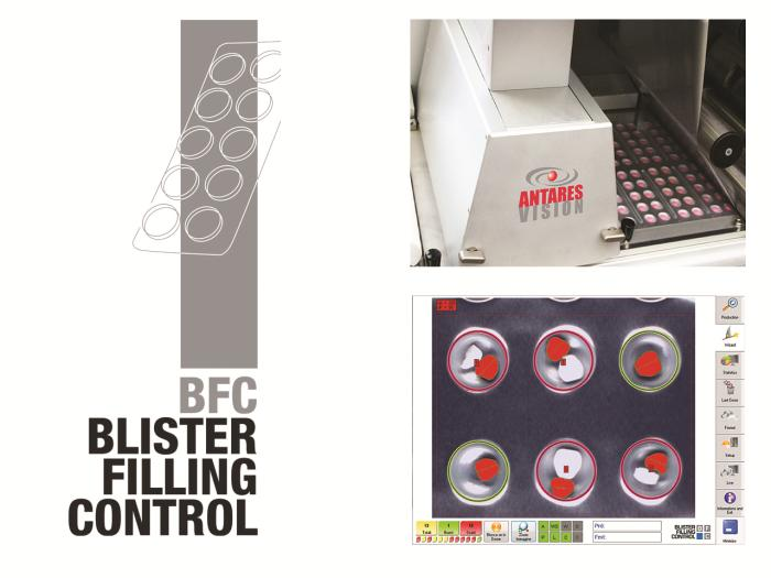 Antares Vision - Blister Filling Control