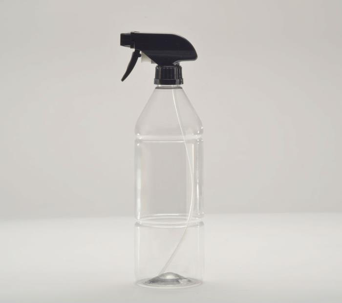 Spripacs ISO-9317 1 litre PET bottle solution for abrasive chemicals