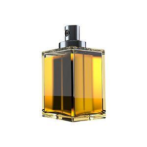Hand-polished standardized and customized glass fragrance bottles