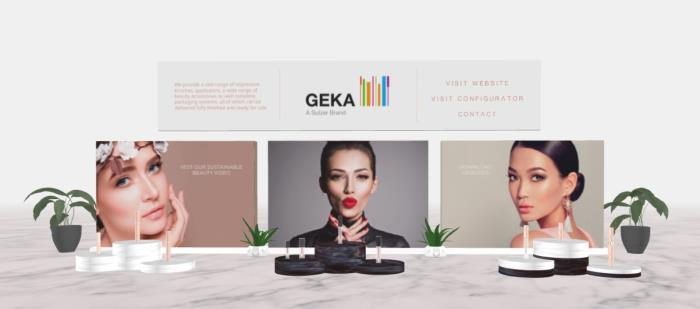 GEKA welcomes visitors to view their cosmetic applicators in full 3D
