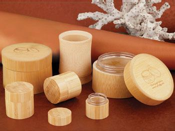 Eco friendly bamboo jars from CPL Packaging - Product Info