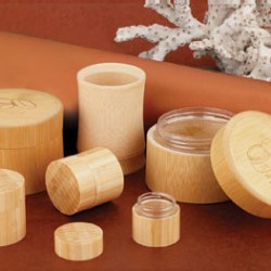 Eco friendly bamboo jars from CPL Packaging