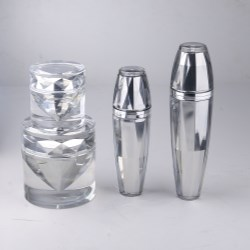 Sheer luxury: CPLs acrylic bottle for the Diamond Collection