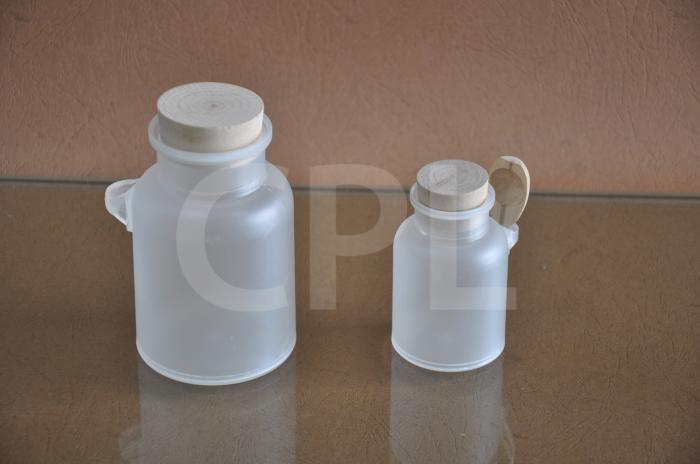 Bath salt bottle