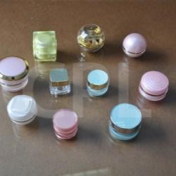 Acrylic jar - CIA