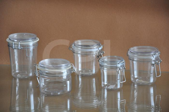 PET kilner jar