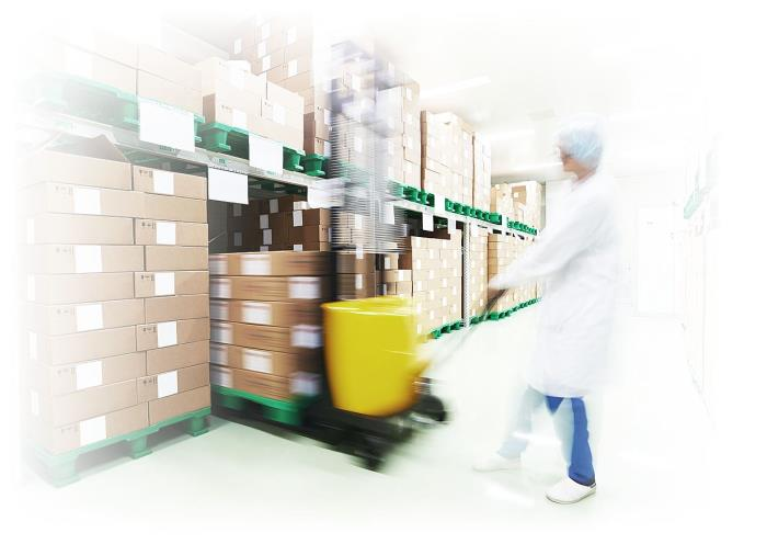 Pallet applications for pharmaceutical environments