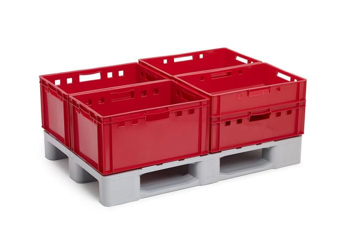 Hygiene first: Plastic pallets in the meat and poultry sector