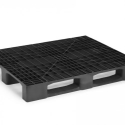 Monobloc Industrial Pallet with 3 Runners
