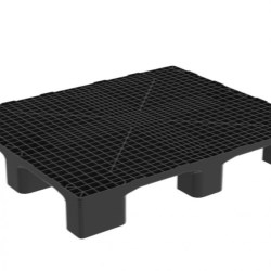 Heavy Monobloc Industrial Pallet without Runners