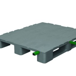 Monobloc Industrial Pallet 3 Runners Reinforced
