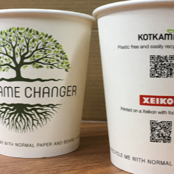Xeikon partners with Kotkamills on digitally printed cup