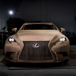 DS Smith helps build the world's first full-size origami inspired car