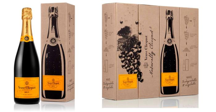 Innovation and mother nature paired in unique Veuve Clicquot packaging