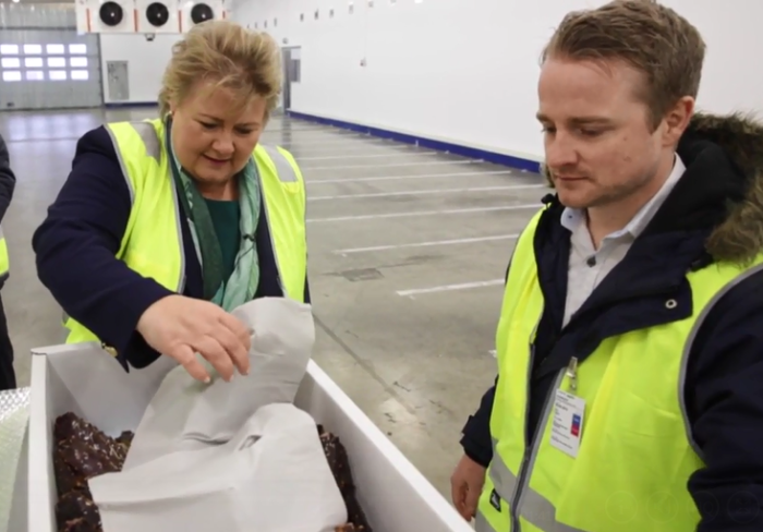 Norwegian Prime Minister discovers Drypack– unique packaging driving Norway's seafood boom