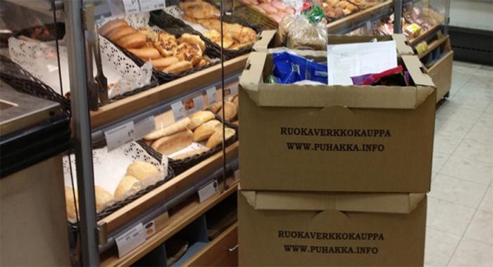 K-Market Puhakka finds boxes better for business