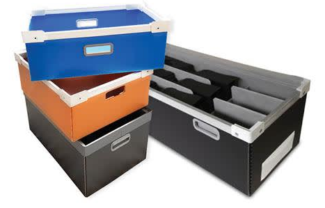 DS Smiths customisable and reusable AkyPak makes material handling and distribution easier