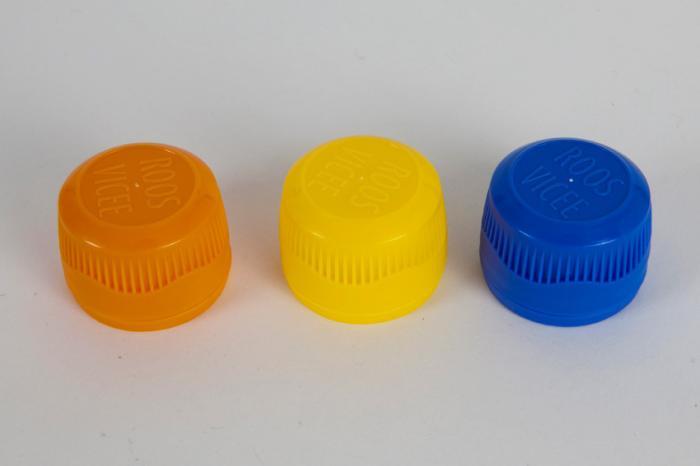 New non-drip syrup caps