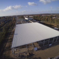 Kornelis new production facilities are well underway
