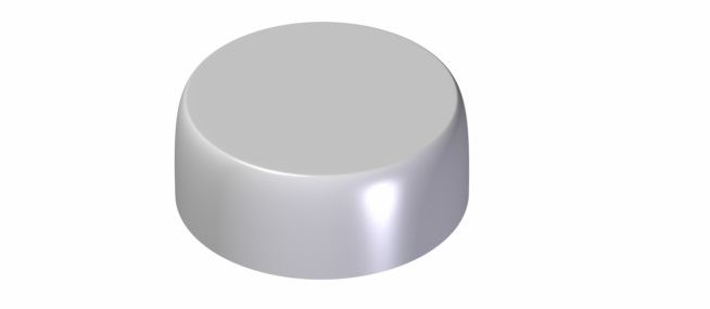 38mm double-wall cap