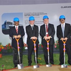 Clariant performs groundbreaking for new Healthcare Packaging plant in India