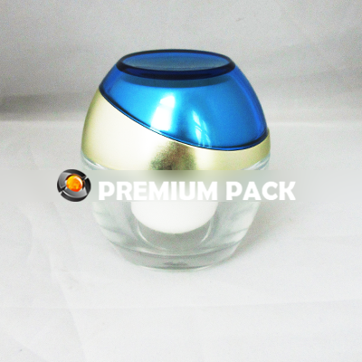 Cosmetic Glass Jar - 50g
