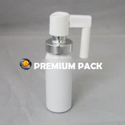 Aluminum nose sprayer bottle