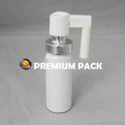 Aluminum nose sprayer bottle