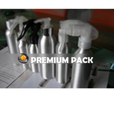 160 ml Aluminium Bottle with Lotion Pump