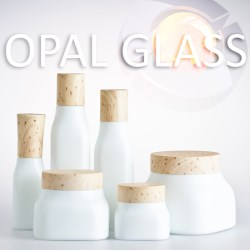 Cosmetic Opal Glass Packaging