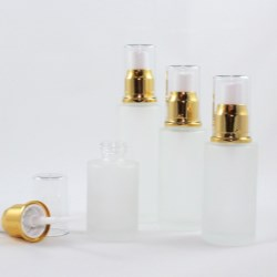30 ml, 40 ml, 50 ml, 60 ml Frosted Glass Bottles