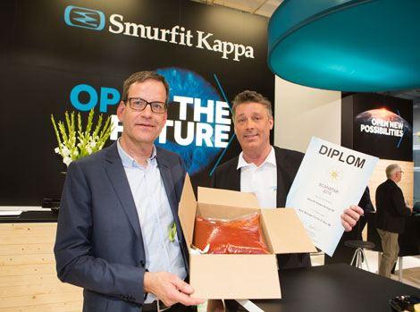 Smurfit Kappa wins Scanstar award for innovative transport packaging solution