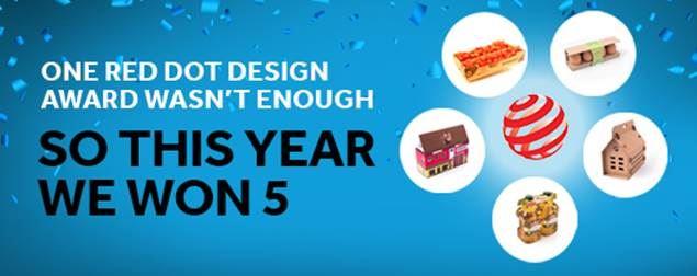 Smurfit Kappa triumphs at global creative design awards
