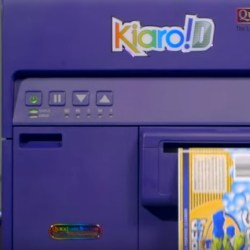 Kiaro! D Color Label Printer for GHS Labels