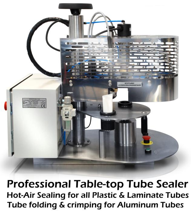 Tube Sealing Machines for ALL tubes (Plastic/Laminate
