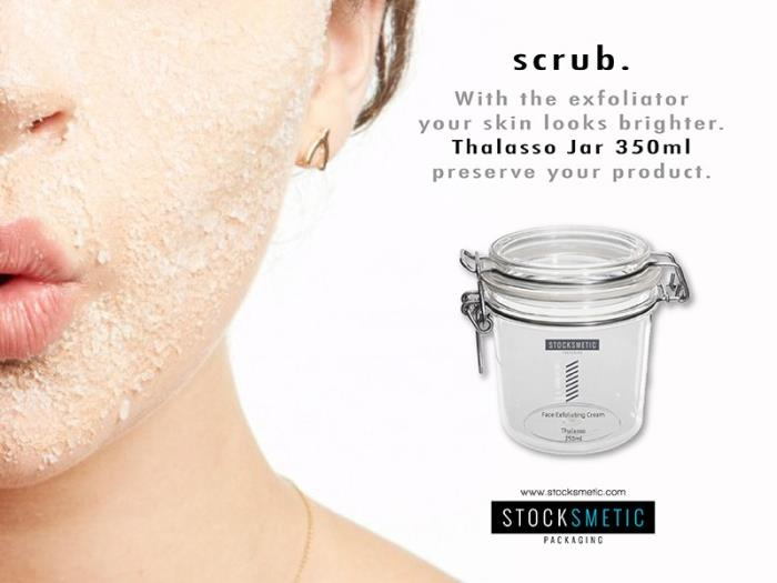 Thalasso jar perfect for scrub