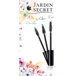 Jardin Secret, the new fibre mascara brush range by Albéa Tips Studio, inspired by the world of flowers