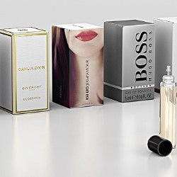 SP5K, Albéas neutral mini fragrance pump, chosen for Reload: The new on-the-go solution in perfume