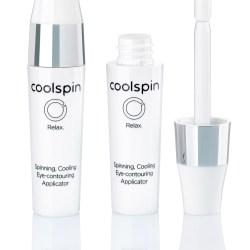 Cool spin by Albéa: A spinning, cooling eye contouring applicator