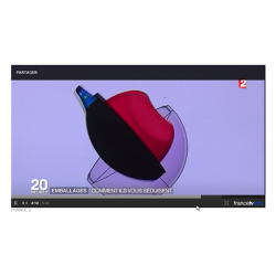 Albéa features on French national television