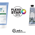 Flexo Star 2016 for two Albéa tubes decoration printing