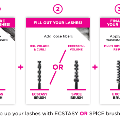 Excess Lashes mascara, a false-lash look without false lashes!