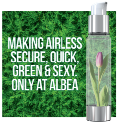 Making airless secure, quick, green and sexy. Only at Albéa.