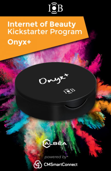Albéa presents its IOB kickstarter: The Onyx + make-up box