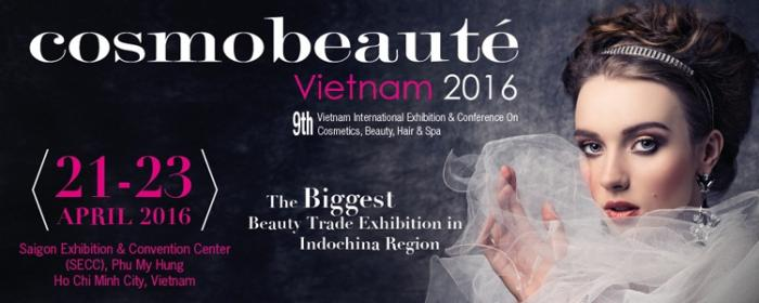Cosmobeauté Vietnam 21-23 April 2016