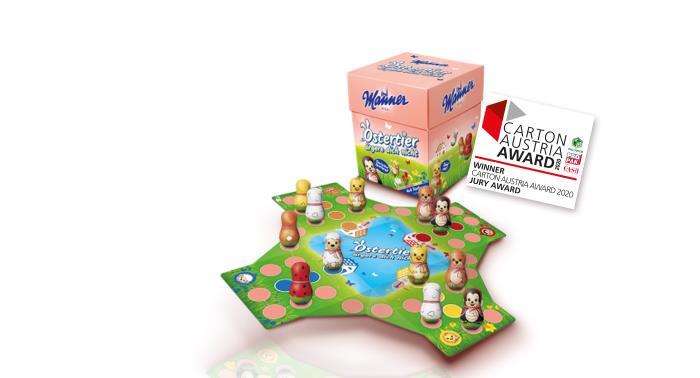 Carton Austria Award for Cardbox Packaging