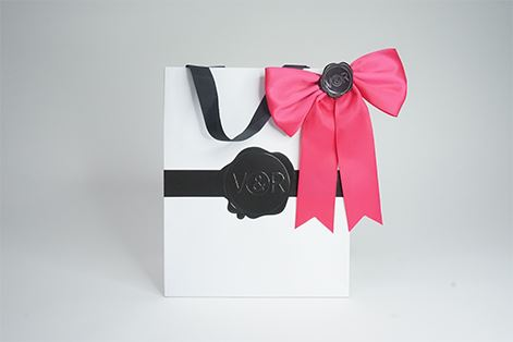Ribbons and boxes and bows - oh my!